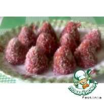 Рецепт ягодок из вафель и печенья