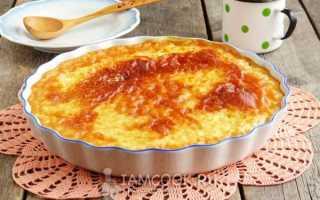 Пшенник с рисом в духовке рецепт
