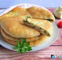 Рецепт теста для осетинских пирогов на кефире
