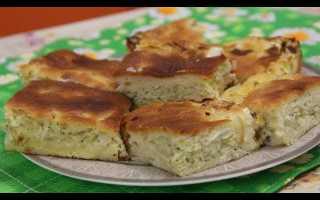 Пирог с капустой от юлии миняевой