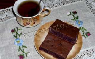 Рецепт пирога негр с вареньем