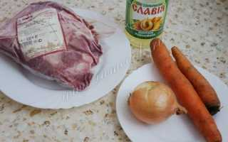 Рецепт тушеного мяса в мультиварке редмонд