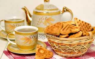 Рецепт вафельного печенья в вафельнице на газу