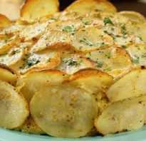 Пирог с ветчиной и картофелем