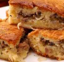Рецепт пирога с сайрой на майонезе