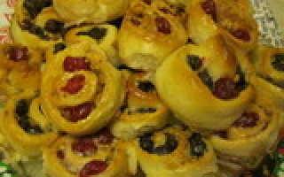 Пирог с сушеной вишней