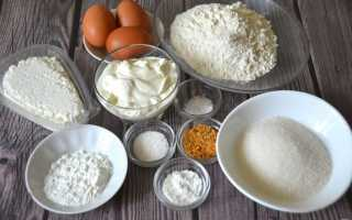 Рецепт заливного пирога с творогом в духовке