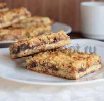 Рецепт печенья домашнего с вареньем