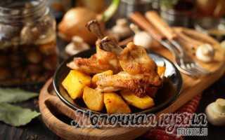 Рецепты картошки с куриными крыльями