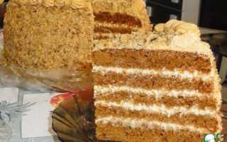 Пирог в мультиварке со сметанным кремом