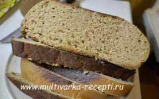 Рецепт ржаного хлеба в мультиварке редмонд