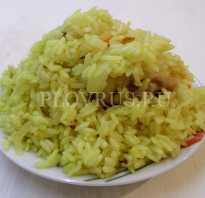 Пропаренный рис для плова в мультиварке