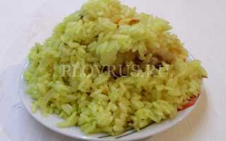 Плов в мультиварке из пропаренного риса