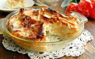 Пирог кружева из лаваша с творогом